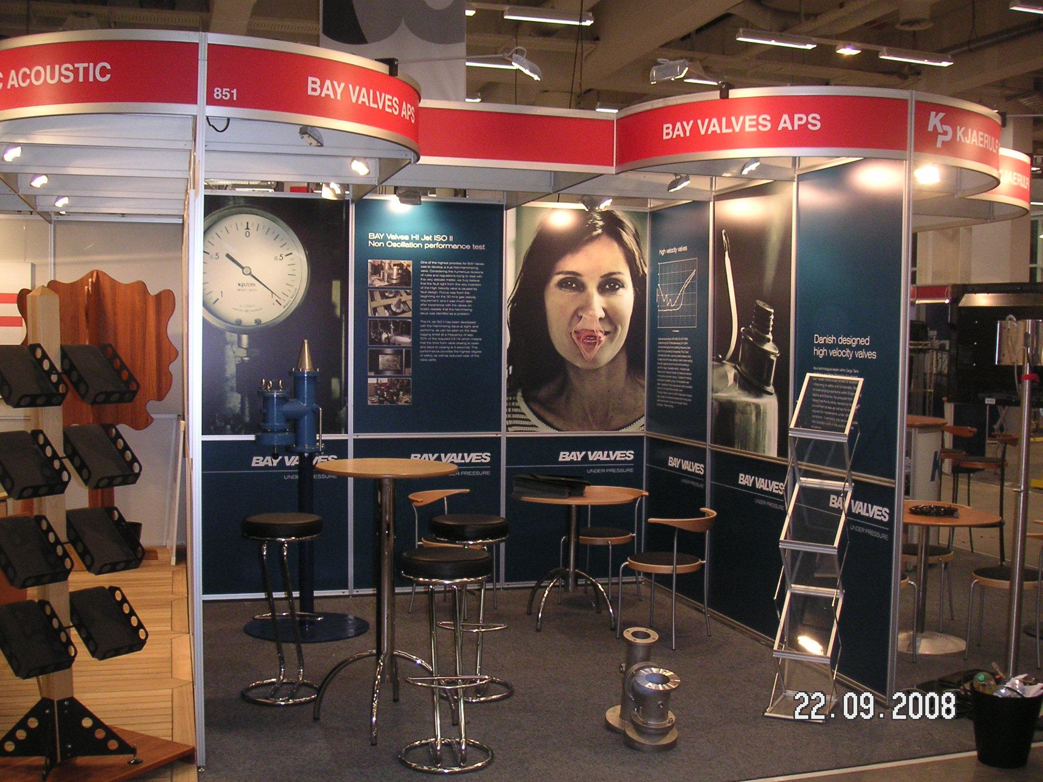 Exhibitions 09 2008 011 high velocity valves BAY VALVES – Home 09 2008 011